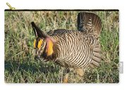 Greater Prairie Chicken Male 9 Carry-all Pouch