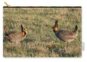 Greater Prairie Chicken Males 1 Carry-all Pouch
