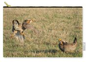 Greater Prairie Chicken Males 2 Carry-all Pouch