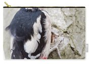 Greater Spotted Woodpecker Carry-all Pouch