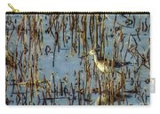 Greater Yellowleg In Reeds Carry-all Pouch