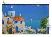 Greek Blue Santorini A Greek Fairytale Carry-all Pouch