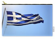 Greek Flag Carry-all Pouch