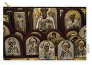 Greek Orthodox Church Icons Carry-all Pouch by David Smith