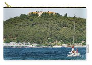 Greek Orthodox School And The Sea Of Marmara Carry-all Pouch