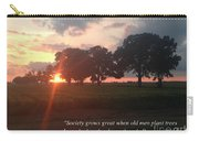 Greek Proverb Carry-all Pouch