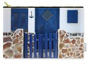 Greek Traditional House Carry-all Pouch