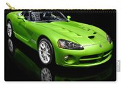 Green 2008 Dodge Viper Srt10 Roadster Carry-all Pouch