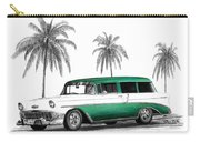 Green 56 Chevy Wagon Carry-all Pouch