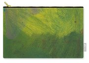 Green Abstract 1 Carry-all Pouch