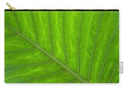 Green Abstract No. 4 Carry-all Pouch