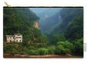 Green Along The Yangtze Carry-all Pouch