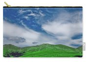 Green And Blue Landscape Carry-all Pouch