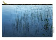 Green And Blue Serenity - Smooth Wetland Morning Carry-all Pouch