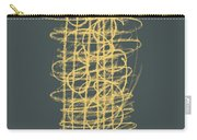 Green And Gold 1 Carry-all Pouch by Julie Niemela