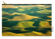 Green And Gold Acres Carry-all Pouch