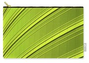 Green And Yellow Building Abstract Carry-all Pouch