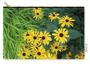 Green And Yellow Burst Carry-all Pouch