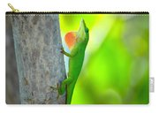 Green Anole Carry-all Pouch