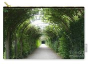 Green Arbor Of Mirabell Garden Carry-all Pouch