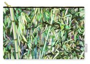 Green Bamboo Tree Carry-all Pouch