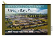 Green Bay Evening 1 W/text Carry-all Pouch