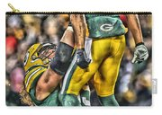 Green Bay Packers Team Art Carry-all Pouch