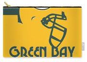 Green Bay Packers Team Vintage Art Carry-all Pouch
