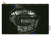 Green Bay Packers Typographic Word Art Carry-all Pouch