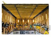 Green Bay Packers Uniforms Then And Now Carry-all Pouch