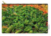 Green Bean Montage Carry-all Pouch