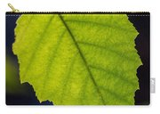 Green Beech Leaf 1 Carry-all Pouch