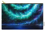 Green-blue Galaxy And Ocean. Planet Dzekhtsaghee Carry-all Pouch
