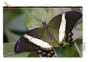 Green Butterfly Carry-all Pouch