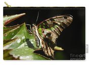 Green Checkered Skipper Carry-all Pouch