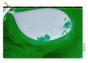 Green Chemicals Abstract Carry-all Pouch