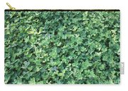 Green Clovers Carry-all Pouch