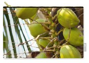 Green Coconut Carry-all Pouch
