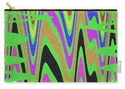 Green Color Abstract #140 Carry-all Pouch
