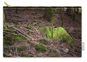 Green Covered Rock Carry-all Pouch