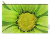 Green Daisy Photograph Carry-all Pouch