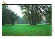 Green Dawn In Autumn Carry-all Pouch