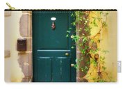 Green Door With Vine Carry-all Pouch