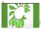 Green Dragon With Fruit Cluster Carry-all Pouch