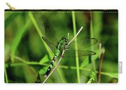 Green Dragonfly Carry-all Pouch