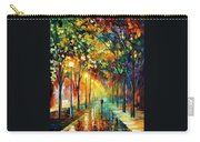 Green Dreams Carry-all Pouch by Leonid Afremov
