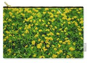 Green Field Of Yellow Flowers 1 Carry-all Pouch
