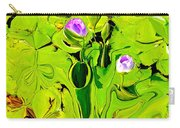Green Fluidity Carry-all Pouch