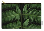Green Foilage Of Indonesia Carry-all Pouch