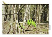 Green Foliage Forest Carry-all Pouch